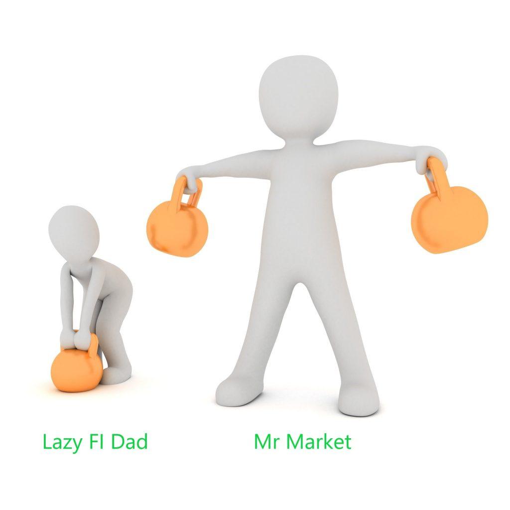 Mr. Market doing the heavy lifting